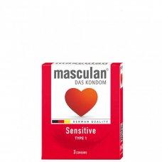 Masculan Sensitive Extra vékony óvszer 3db