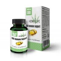 Hemp4Life Immunerősítő Lágy Gél Kapszula CBD - 600 mg