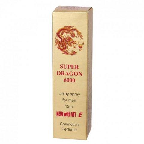 Super Dragon 6000 Késleltető Spray 12ml - Erőteljes