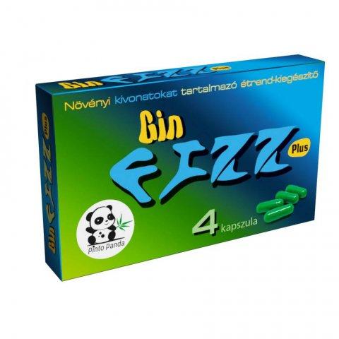 Potencianövelő   Gin Fizz Plus Kapszula Férfiaknak 4db