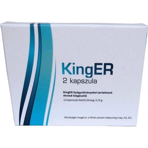 Potencianövelő | King ER Blue Kapszula Férfiaknak 2db