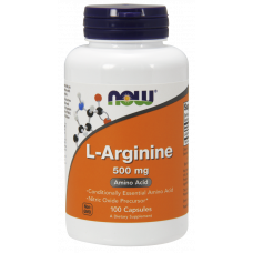 NOW L-Arginin Kapszula 500mg - 100db