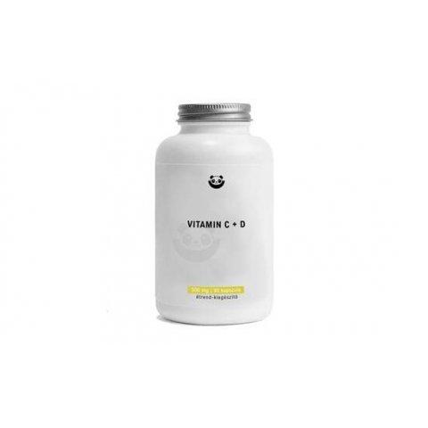 Panda Nutrition - Vitamin C + D 500mg (90 tabletta)