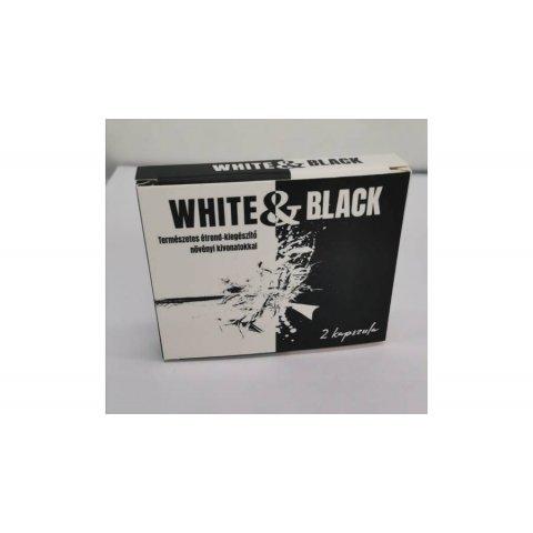 Potencianövelő | White&Black Kapszula Férfiaknak 2db