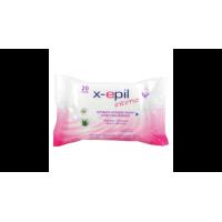 X-Epil Intim Törlőkendő 20db
