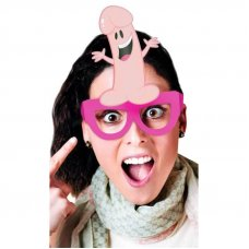 Péniszes Party szemüveg - 8db