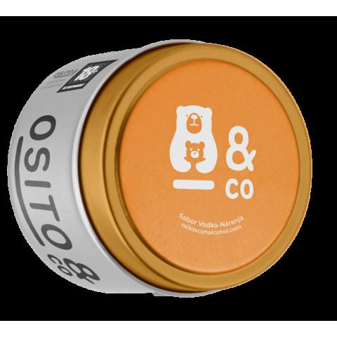PRÉMIUM VODKA-NARANCS ízű alkoholos gumicukor 100db