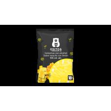 TEQUILA-CITROM ízű alkoholos gumicukor 120g - 30db