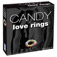 Cukorka péniszgyűrű - színes