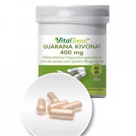 Guarana kapszula 400 mg - 60 db