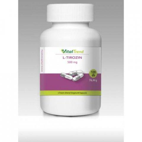 L-Tirozin kapszula 500 mg - 120 db