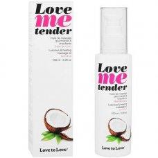 Love to Love Me Tender melegítő masszázsolaj - kókusz