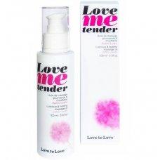 Love to Love Me Tender melegítő masszázsolaj - vattacukor