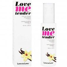Love to Love Me Tender melegítő masszázsolaj - vanília