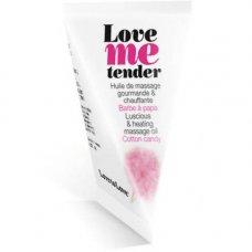 Love to Love forrósító masszázsolaj 10ml - vattacukor