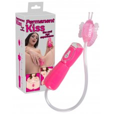 Permanent Kiss - elektromos vaginaszívó (pink)