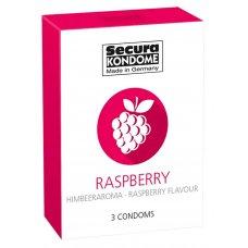 Secura Raspberry - málnás óvszer (3db)