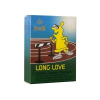 Amor long love óvszer - 3db