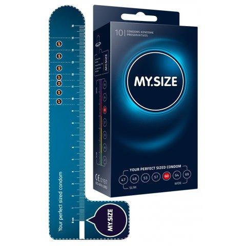 MY SIZE Egyedi méret óvszer - 60mm (10db)