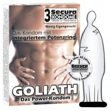 Góliát Potencia óvszer (3db)
