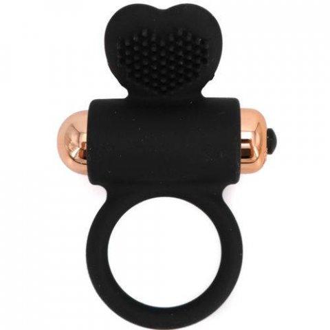 Womanvibe Zeus vibráló péniszgyűrű - fekete