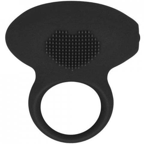 Simplicity Baron vibrációs péniszgyűrű - fekete