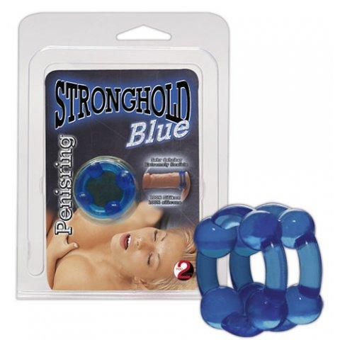 Zselés szexgyűrű - kék