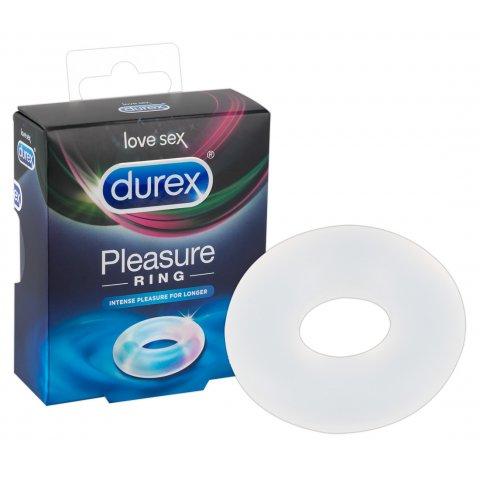 Durex Pleasure Ring Intense - péniszgyűrű (áttetsző)