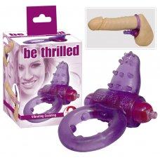 Rücskös vibrogyűrű - lila