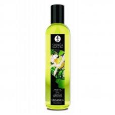 Shunga organikus masszázsolaj - frissítő zöld tea 250ml