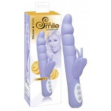 SMILE Fancy - élményvibrátor (levendula)
