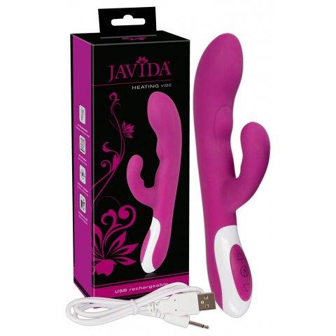 Javida - Akkus, melegítős csiklóizgatós vibrátor (szeder)