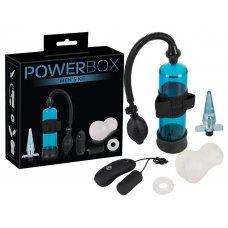 PowerBox - péniszpumpás szett férfiaknak (4 részes)
