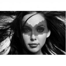 Bijoux Indiscrets karikás szemmaszk - Fekete