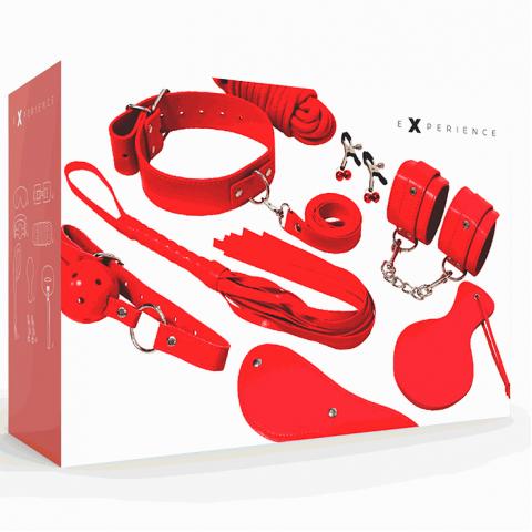 Experience Red Series BDSM szett - piros