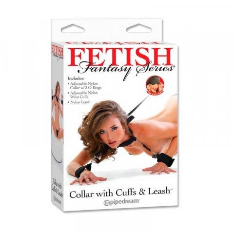 Fetish Fantasy erotikus póráz bilinccsel