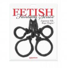 Fetish Fantasy japán hogtie kötél - Fekete