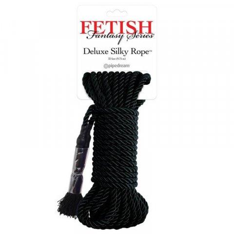 Fetish Fantasy japán bondage kötél - Fekete
