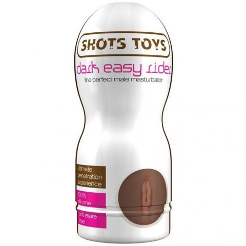 Shots Toys Easy Rider Dark vagina maszturbátor