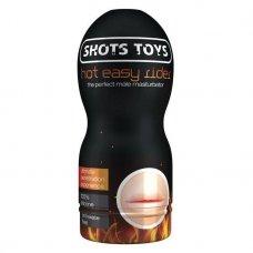 Shots Toys Easy Rider Hot száj maszturbátor melegítő síkosítóval