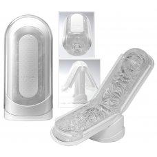 TENGA Flip Zero - szuper-maszturbátor (fehér)