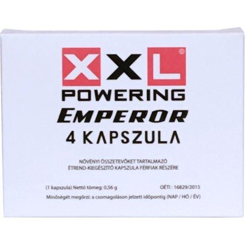XXL Powering Emperor Kapszula Férfiaknak 4db
