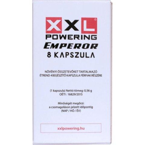 XXL Powering Emperor Kapszula Férfiaknak 8db
