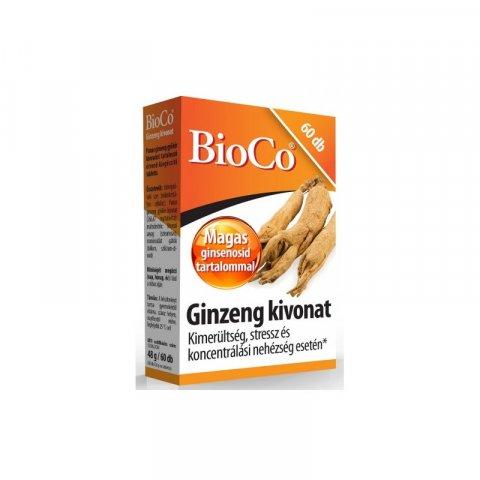 BioCo Ginzeng tabletta 60db