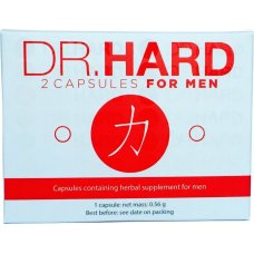 Dr. Hard Kapszula Férfiaknak 2db