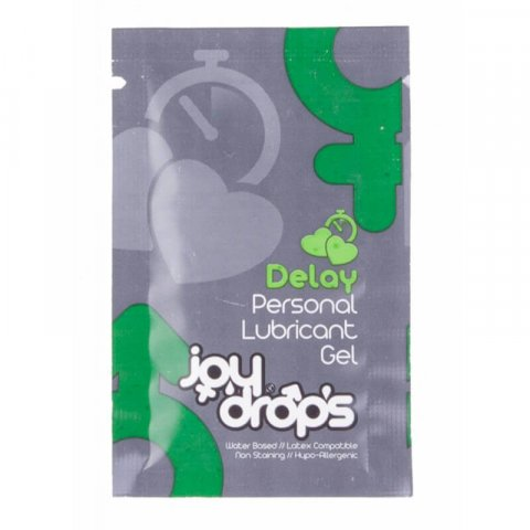 Joy Drops Magömlés késleltető gél - 5ml tasak