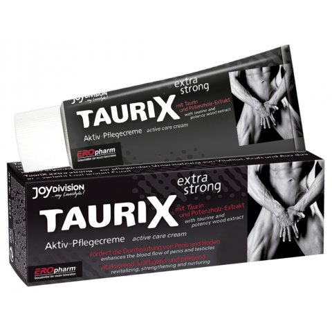 TauriX Extra Erős Erekció és Péniszkrém (40ml)