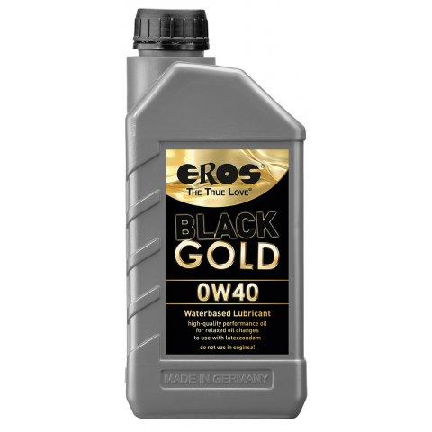 EROS Black Gold OW40 - vízbázisú síkosító (1000ml)