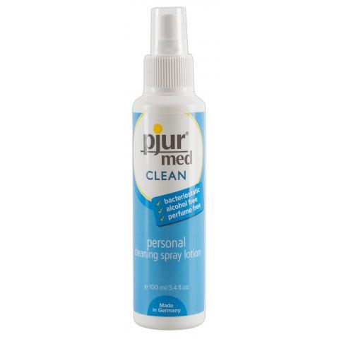 Pjur med intim- és terméktisztító spray