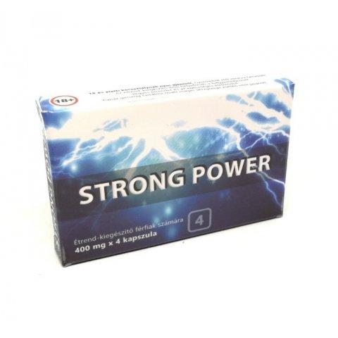 Potencianövelő | Strong Power Max Kapszula Férfiaknak 4db